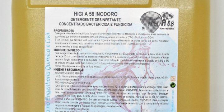 HIGI A58 - Inodoro