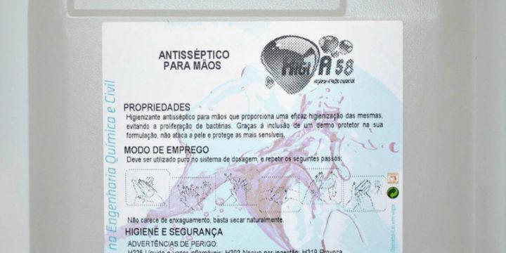 HIGI A58 - Desinfetante Antisséptico