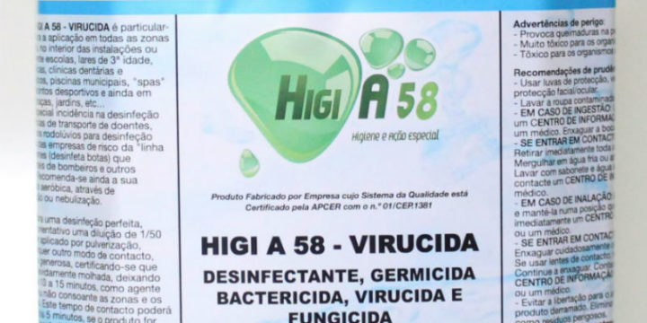 HIGI A58 – Virucida