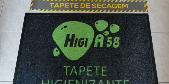 HIGI A58 - Tapetes Higienizantes